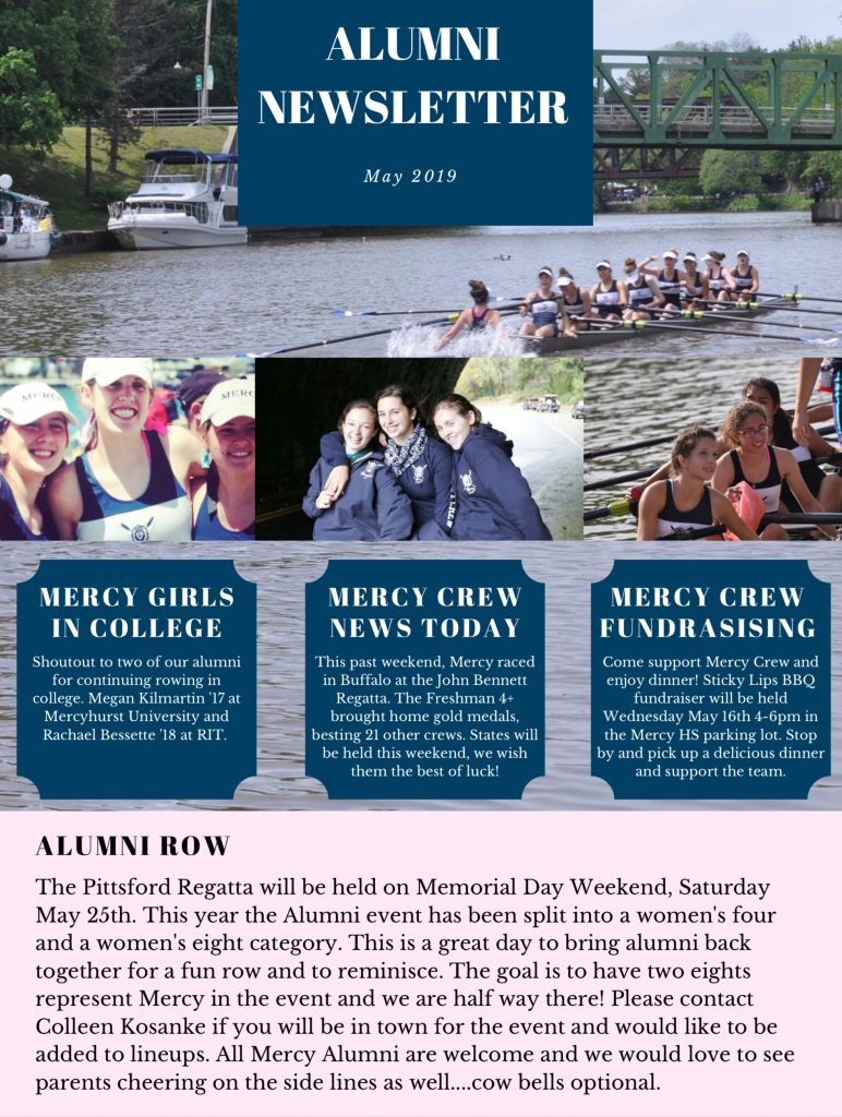 Alumni News May 2019